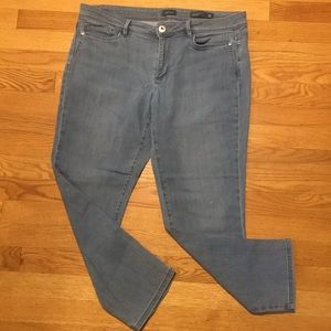 J Jill Denim 12P Authentic Slim Ankle
